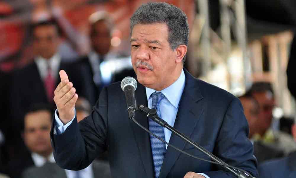 Resultado de imagen para expresidente leonel fernández, advierte